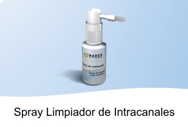 SPRAY LIMPIEZA DE AUDIFONO INTRACANAL A MEDIDA